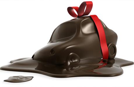 Съедобные свадебные подарки: авто