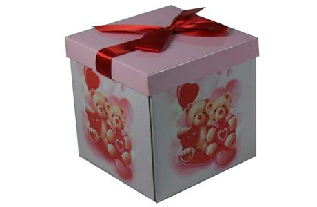 Сделать предложение в красивой коробке