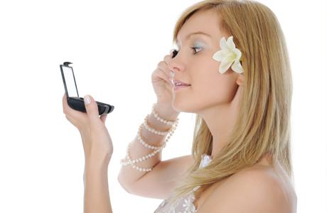 Свадебный макияж ресниц