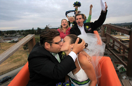 Сыграть оригинальную свадьбу