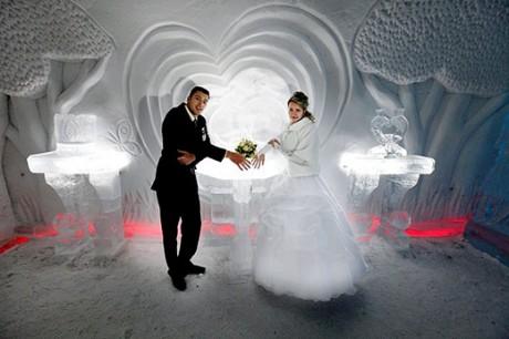Твоя свадьба в ледяном отеле