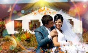 Видеосъемка свадьбы в 3D
