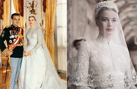 Свадебное платье в стиле грейс келли