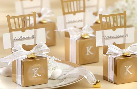 Свадебные бонбоньерки для гостей
