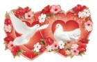 Свадебные приглашения-сердца