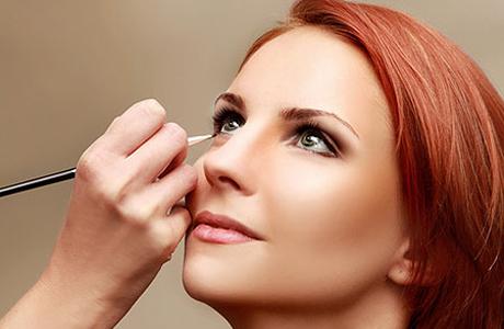 Свадебный макияж: широко посаженные глаза