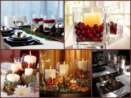 Изысканный декор свадьбы свечами