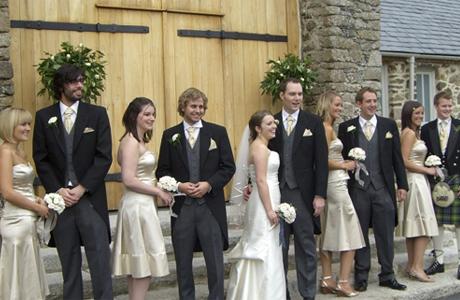 Свидетели и свидетельницы - викторианская свадьба