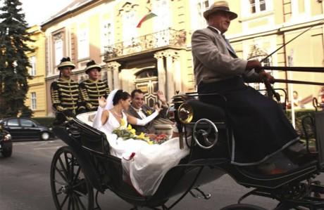 Венгерская свадьба - свадебная карета