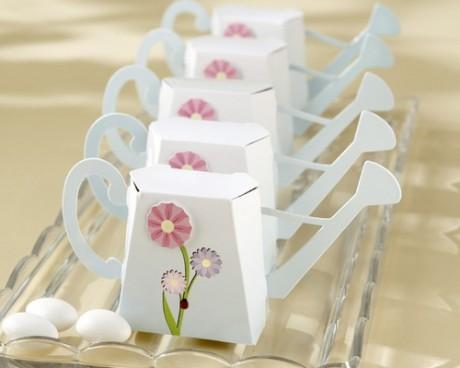 Весенние свадебные бонбоньерки