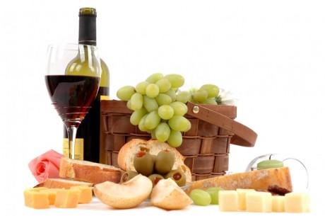 Свадебное меню: вино