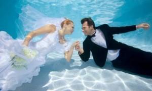Странные свадьбы: Жених и невеста - дайверы