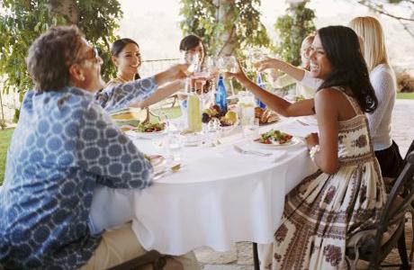 знакомство с семьями франции