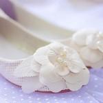 Универсальная обувь и для невесты, и для свидетельницы. В них легко и комфортно