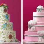 Украшение свадебного торта может быть самым разнообразным. Все зависит от твоей фантазии