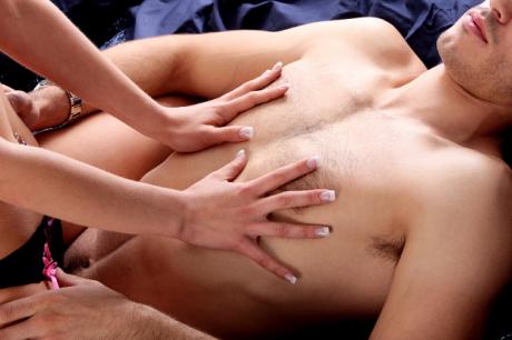 Эротический массаж для жениха