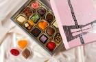 Шоколадный подарок для свадебных гостей