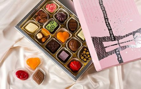 Идеи подарков для гостей: Шоколадный подарок