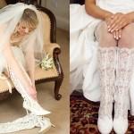 Немного легкого флирта в свадебном наряде невесты не повредит даже на свадьбе