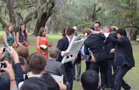 Драка на свадьбе - найми охрану