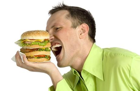Гамбургер и эрекция - хороший любовник