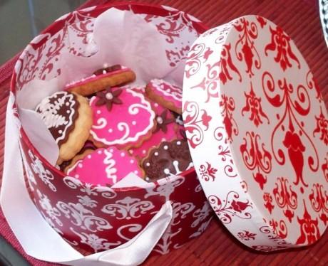 Идеи подарков для гостей: Домашнее печенье