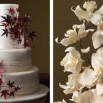 Украсить живыми цветами свадебный торт - смелый ход, который на 100% будет оправдан