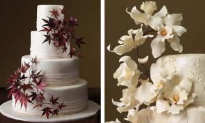 leaves-cake