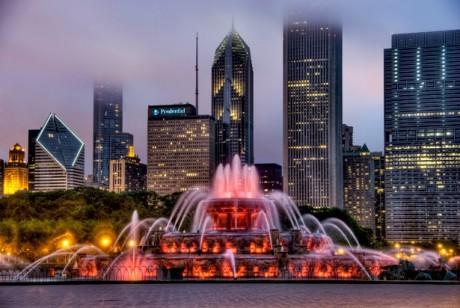 Медовый месяц в Чикаго: Букингемский фонтан