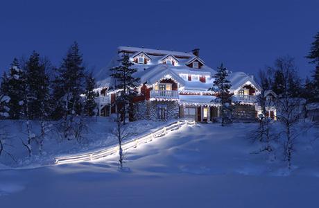 Медовый месяц в Лапландии - в объятиях сказки