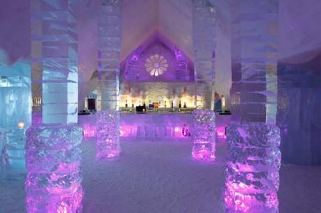 Ледяной отель для молодоженов