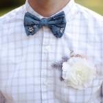 Для теплого времени года эксперименты со свадебным нарядом жениха не в новинку