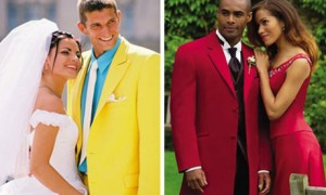 Цветной костюм