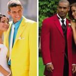 Современные женихи предпочитают выделяться цветом своего свадебного костюма