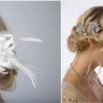 Красивые, элегантные аксессуары для прически свидетельницы: создай свой неповторимый образ на новогодней свадьбе