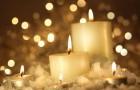 Свечи на улице