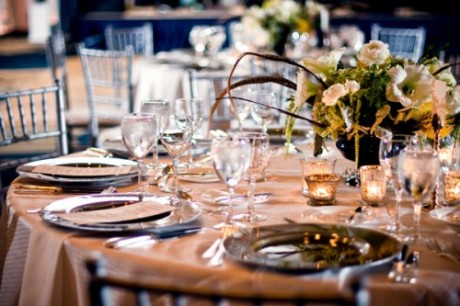 Свадьба в Новый Год -стол