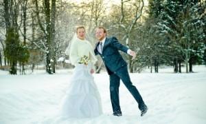 Недостатки свадьбы в декабре