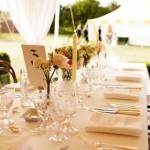 Такое свадебное оформление может послужить лучшим примером для женихов и невест