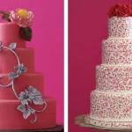 Торт на свадьбу иногда становится чистым холстом, га котором кондитер по желанию молодоженов рисует настоящие сладкие картины