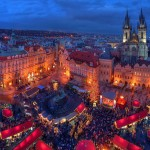 Прага в Новый год - место, где любая сказка превращается в реальность, особенно для молодоженов
