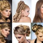 Коса - модная прическа не только для невесты, но и для свидетельницы, которая идет в ногу с модой в Новый год