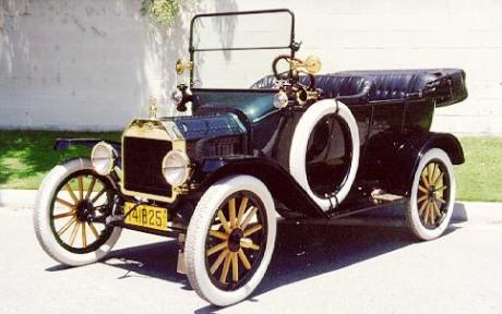 Ford Model для свадьбы в стиле ретро