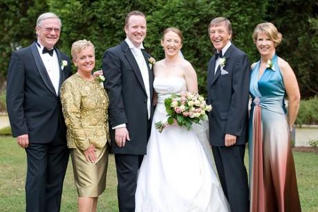 Роли родителей на свадьбе