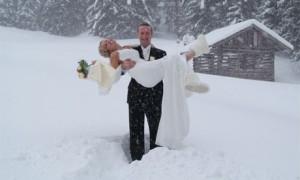 Зимняя свадьба со скидкой