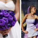 Фиолетовый цвет достаточно темный, но несколько деталей для контраста никогда не повредят