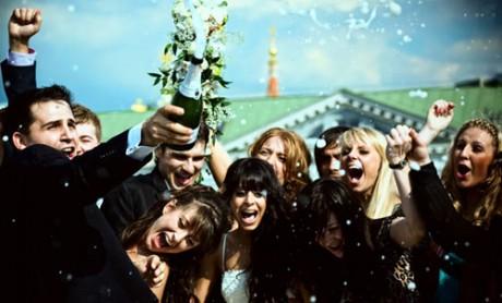 Гости на свадьбе от жениха