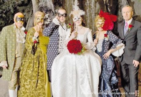 Киношная свадьба на Новый год