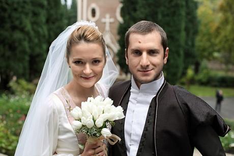 Свадьба Надежды Михалковой и Резо Гигинеишвили: счастливые молодожены