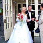 Свадьба в мыльных пузырях